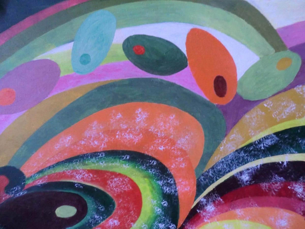 artiste peinture Bayonne - Abstrait - 1