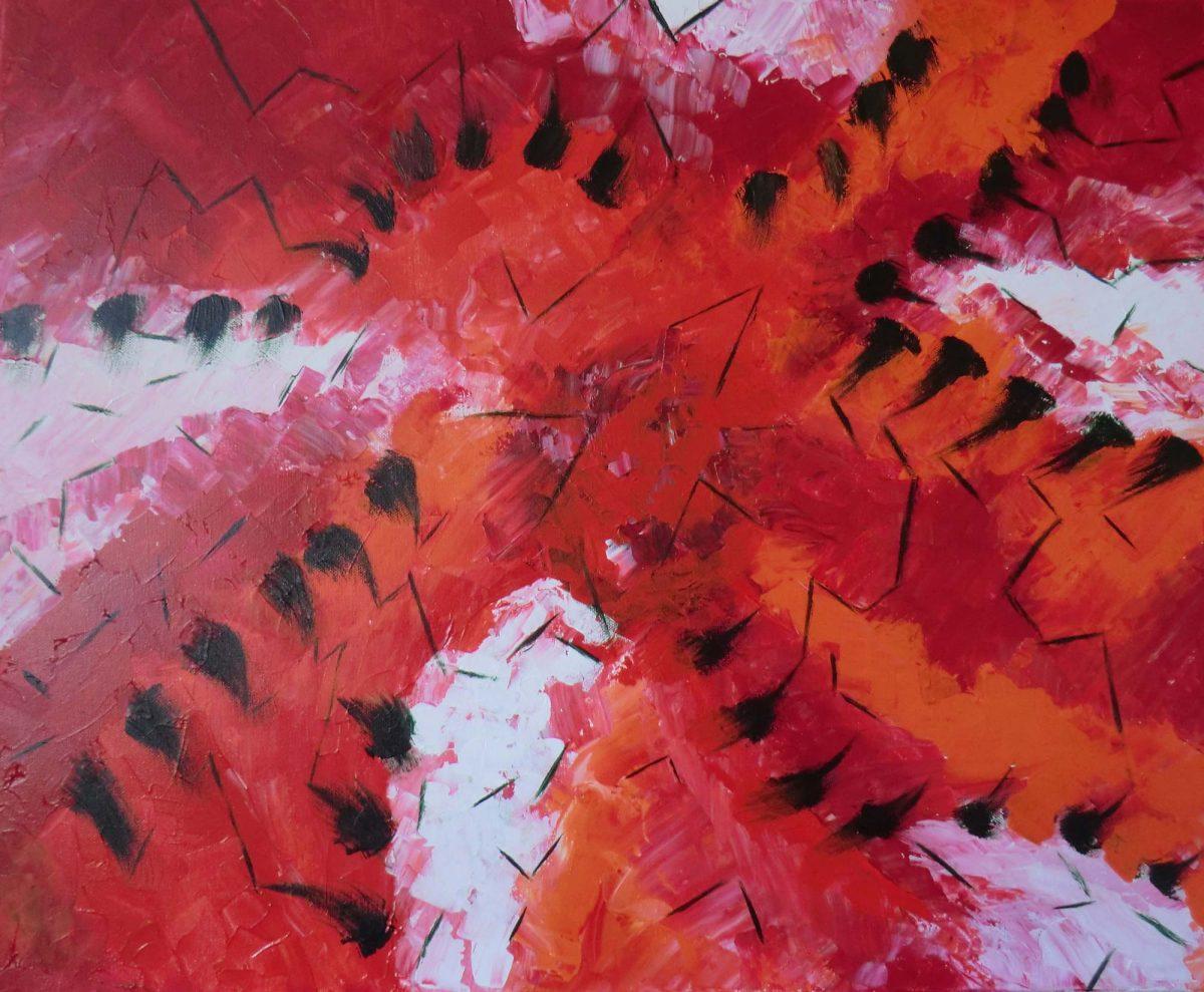 artiste peinture Bayonne - Abstrait - 2