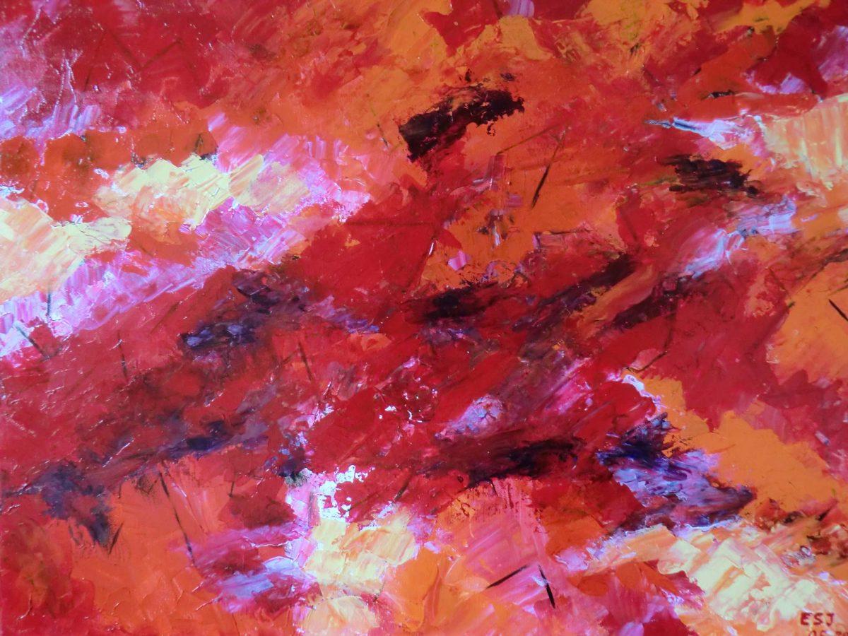 artiste peinture Bayonne - Abstrait - 3