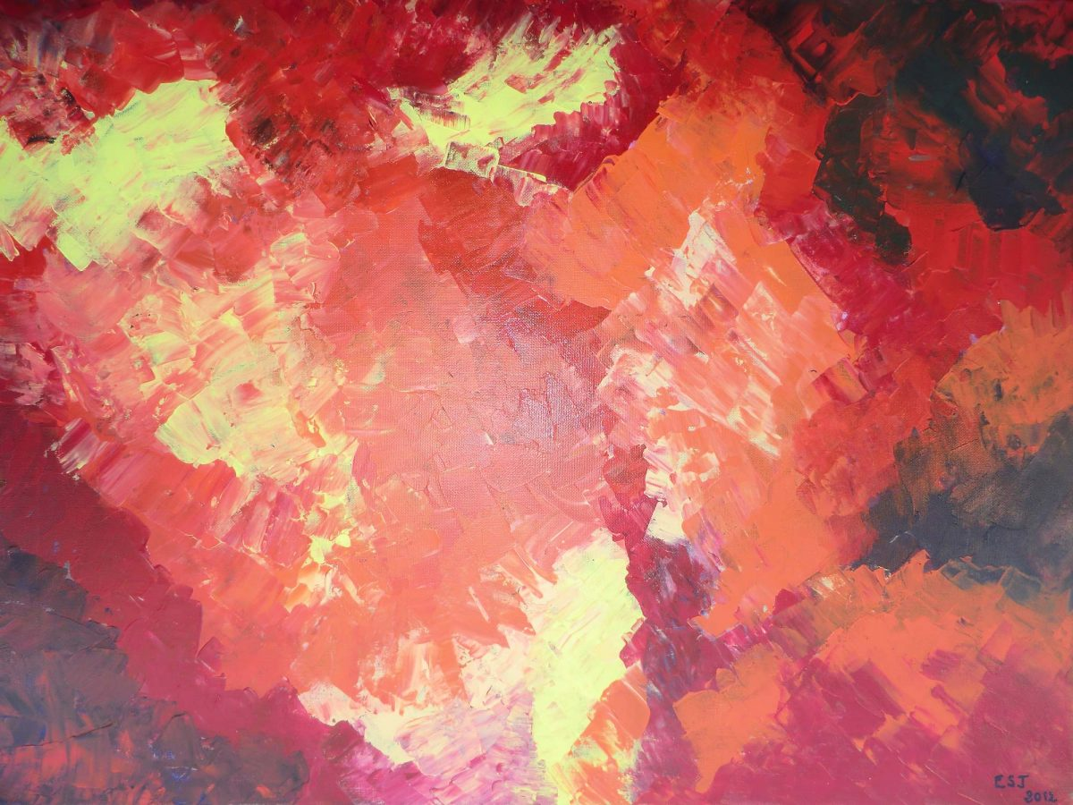 artiste peinture Bayonne - Abstrait - 6
