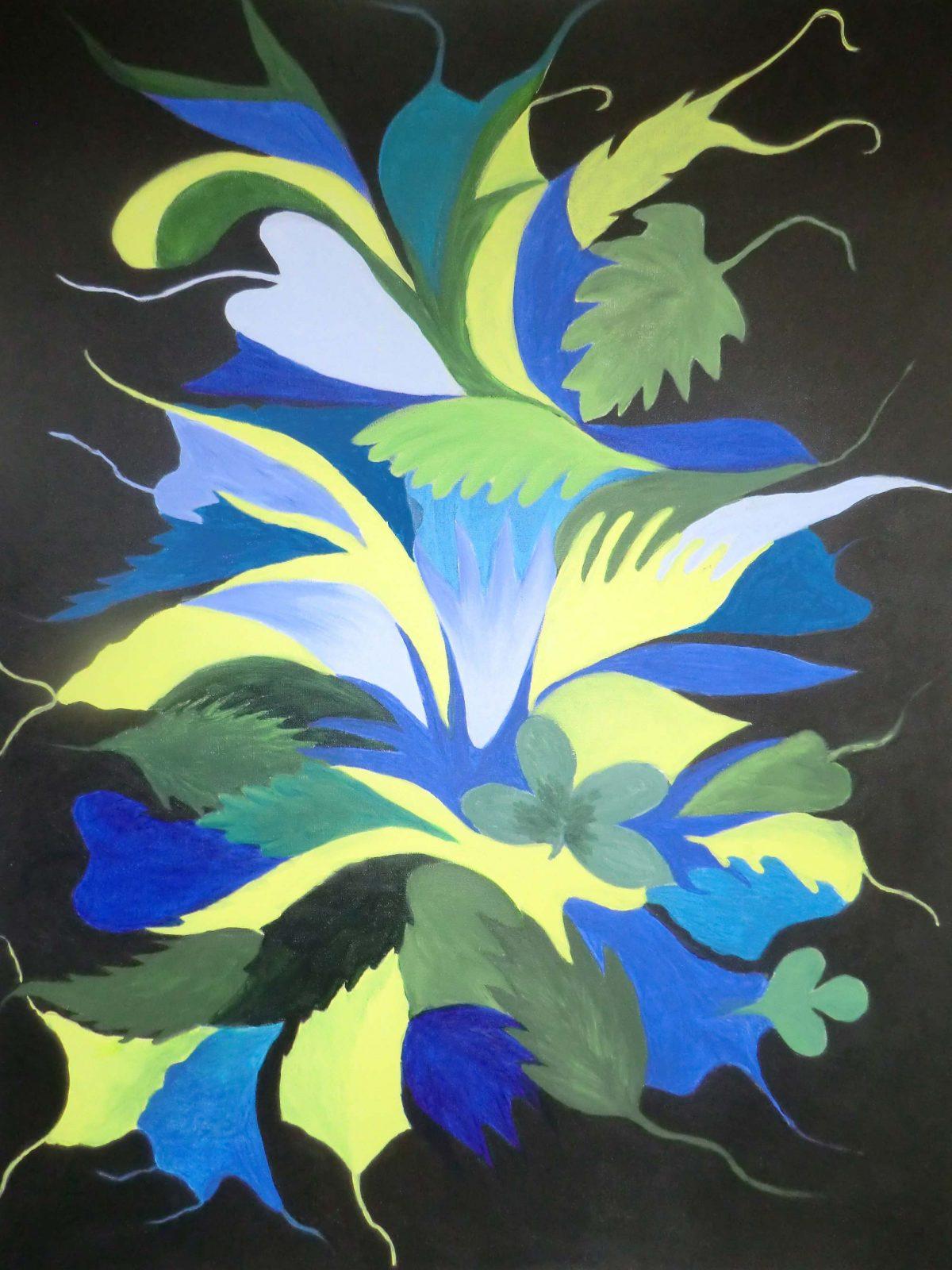 artiste peinture Bayonne - Abstrait - 7