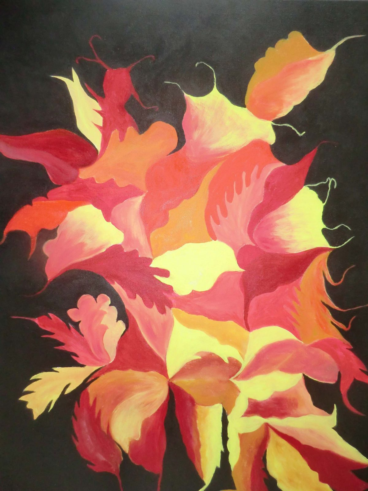 artiste peinture Bayonne - Abstrait - 8
