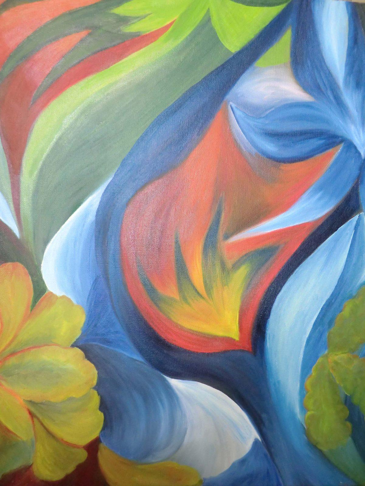 artiste peinture Bayonne - Abstrait - 9