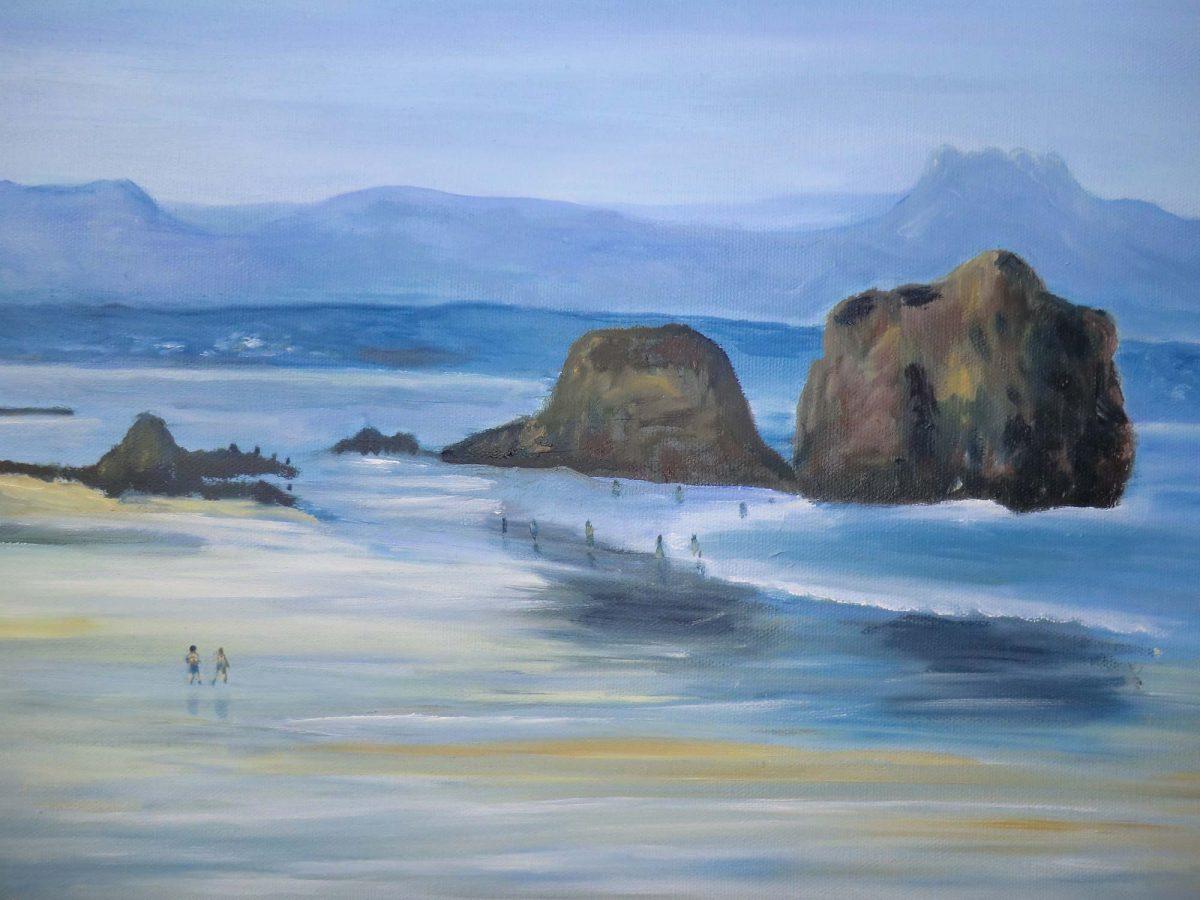 artiste peinture Pays Basque - Paysages - 16