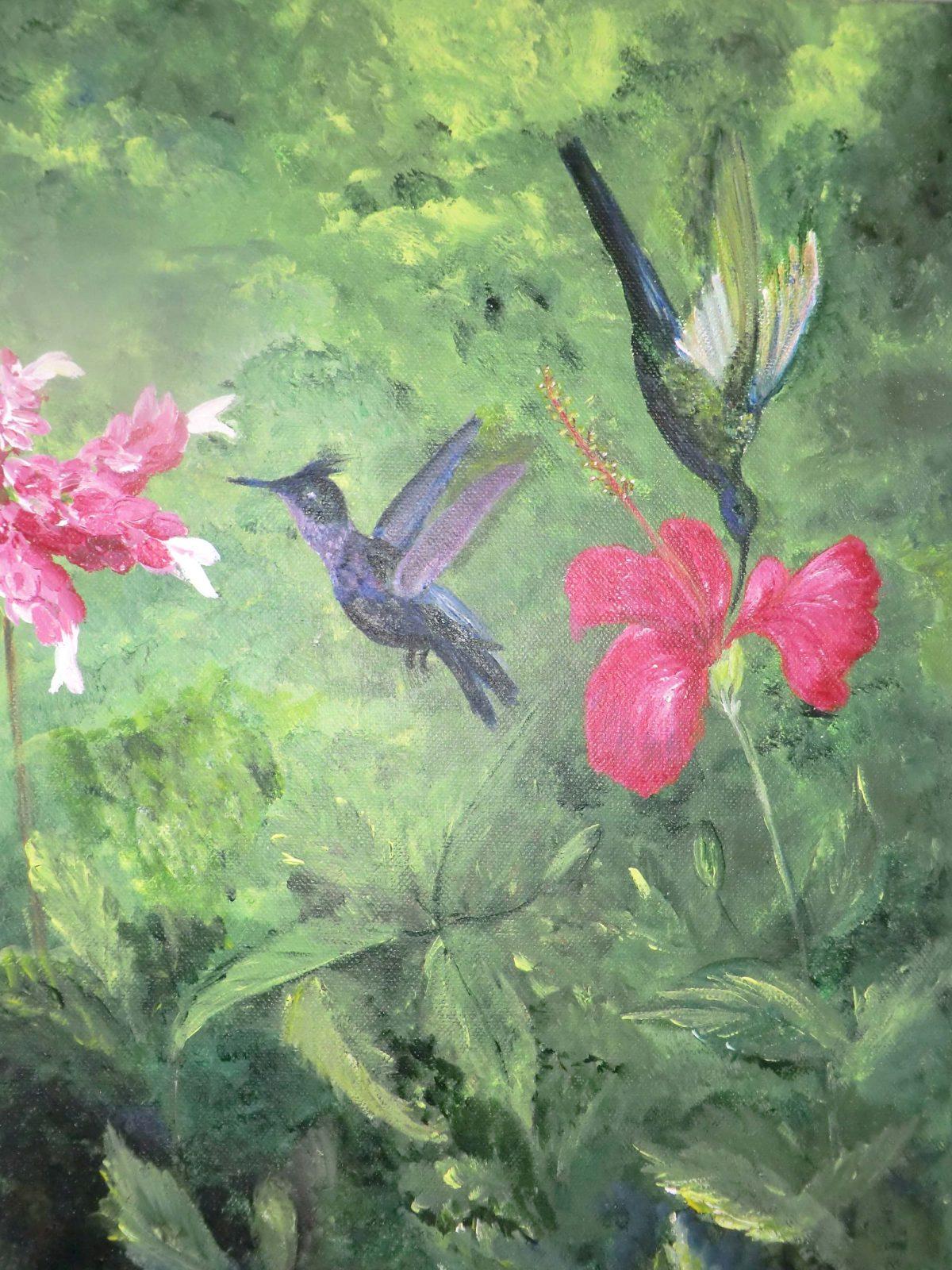 artiste peinture Pays Basque - paysages - 17
