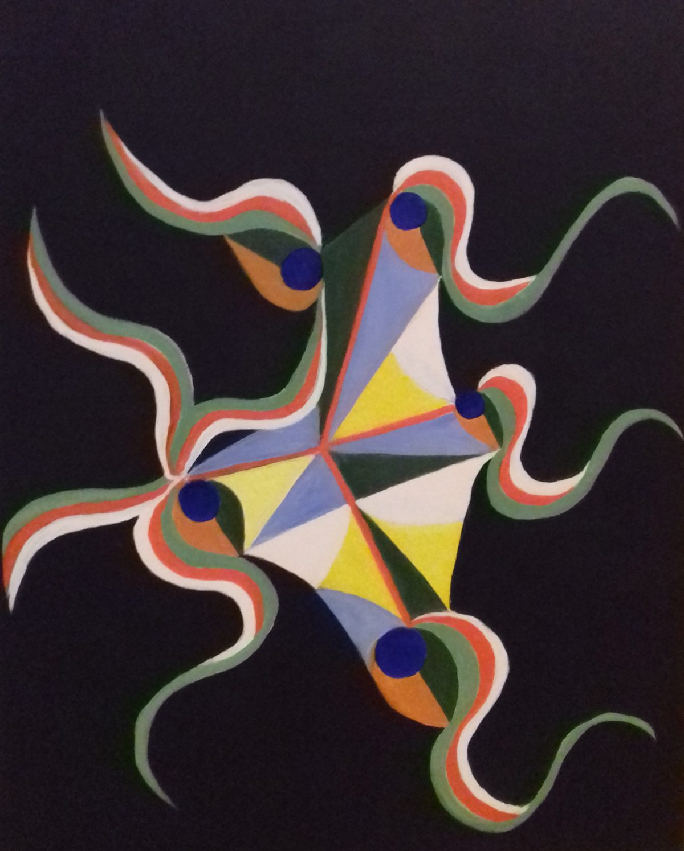 artiste peintre biarritz cerf volant - 1