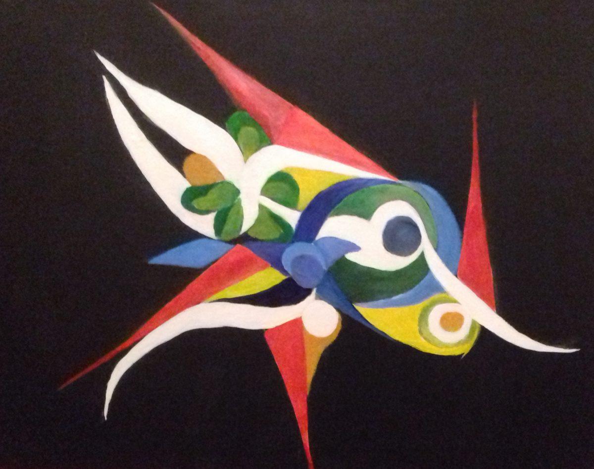 artiste peintre biarritz poisson special - 1